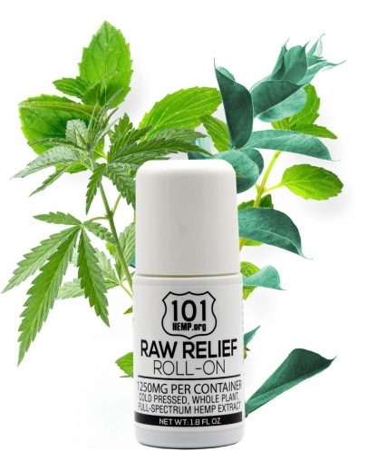 1250 Raw Relief Roll On